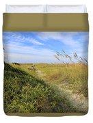 Walk To The Beach Duvet Cover