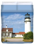 Walk To The Lighthouse Duvet Cover
