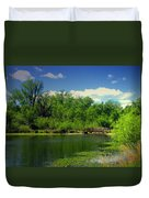 Walk With Me To The Other Side Duvet Cover