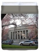 Walker Memorial Early Spring Duvet Cover