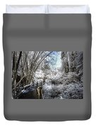 Walking Into The Infrared Jungle 2 Duvet Cover