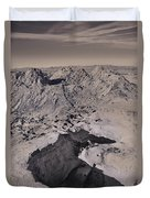Walking On The Moon Duvet Cover by Laurie Search