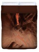 Walking Through A Sculpture Duvet Cover by Adam Jewell