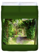 Walkway Duvet Cover by Carey Chen