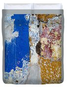Wall Abstract 142 Duvet Cover