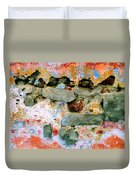 Wall Abstract 15 Duvet Cover