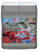 Wall Abstract 16 Duvet Cover
