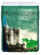 Wall Abstract 166 Duvet Cover