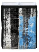 Wall Abstract 34 Duvet Cover
