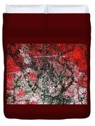 Wall Abstract 37 Duvet Cover