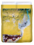 Wall Abstract 43 Duvet Cover