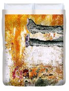 Wall Abstract 62 Duvet Cover