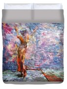 Wall Arted Duvet Cover