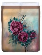 Wall Corsage Duvet Cover