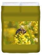 Wall Flower Pollen Duvet Cover