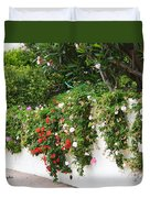 Wall Flowers Duvet Cover