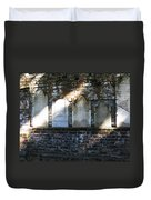 Wall Of Tombstones Knocked Down During Civil War Duvet Cover