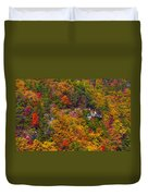 Wall Of Trees Duvet Cover