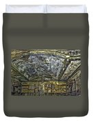 Ceiling And Wall Paintings Duvet Cover