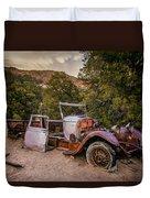 Wall Street Mine Pickup Duvet Cover