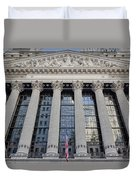Wall Street New York Stock Exchange Nyse  Duvet Cover