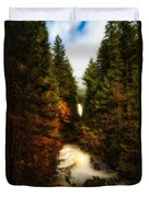 Wallace Fall North Fork Duvet Cover