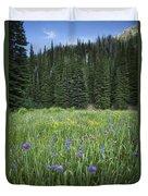Wallowa Wildflowers Duvet Cover