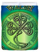Walsh Ireland To America Duvet Cover