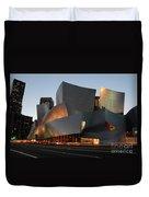 Walt Disney Concert Hall 21 Duvet Cover by Bob Christopher