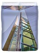 Walt Disney Concert Hall Vertical Exterior Building Frank Gehry Architect 6 Duvet Cover
