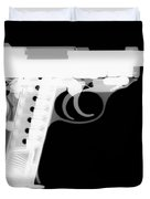 Walther P38 Reverse Duvet Cover