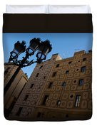 Wandering Around The Streets Of Barcelona Spain Duvet Cover