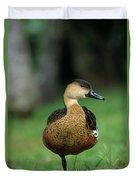 Wandering Whistling Duck Duvet Cover