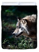 Wandering Wolf Duvet Cover