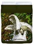 War Eagles - Vermont Company F 1st U. S. Sharpshooters Pitzer Woods Gettysburg Duvet Cover