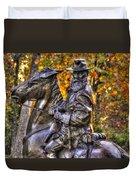 War Horses - Lieutenant General James Longstreet Commanding First Corps Gettysburg Duvet Cover