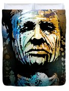 War Paint Study Duvet Cover