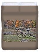 War Thunder - 4th New York Independent Battery Crawford Avenue Gettysburg Duvet Cover