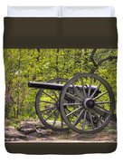 War Thunder - 5th United States Artillery Hazletts Battery - Little Round Top Gettysburg Spring Duvet Cover