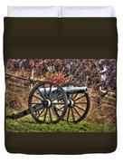 War Thunder - The Morris Artillery Page's Battery Oak Hill Gettysburg Duvet Cover