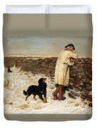 War Time Duvet Cover