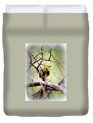 Warbler - Black-throated Green Warbler Duvet Cover