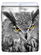 Watching You Owl Duvet Cover