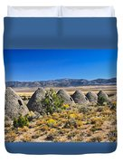 Wards Charcoal Ovens View Duvet Cover