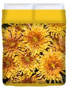 Warm And Sunny Yellows Golds And Oranges Duvet Cover