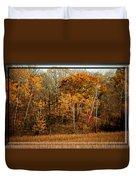 Warm Autumn Glow Duvet Cover