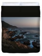Warm California Evening Duvet Cover by Mike Reid