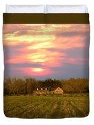 Warm Spring Sunset Duvet Cover