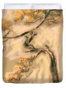 Warm Tree Duvet Cover