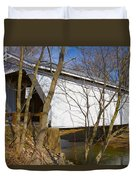 Warnke Covered Bridge  Duvet Cover